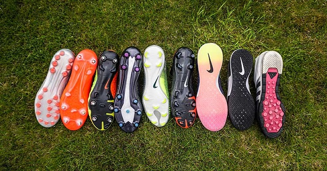 choose shoe soles that match the pitch