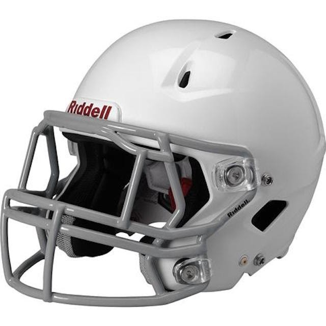 riddell is one of the highest rated football helmet brands