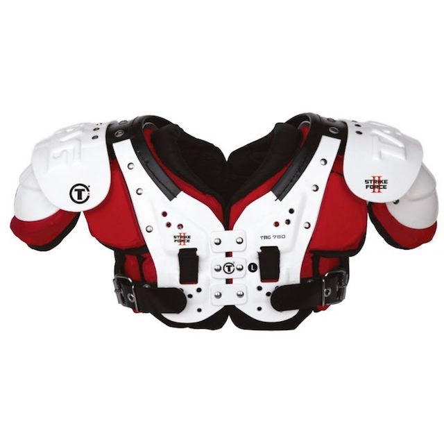 the football shoulder pad is one of the most crucial items to ensure safety for the player