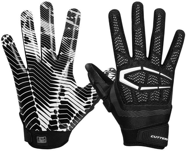 the receivers should choose the best gloves with padding that suits their needs while playing