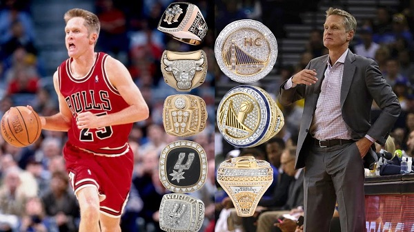 how many rings does steve kerr have langleyrams 1